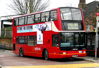 Route 313, Arriva London, DLP100, LF52URE, Chingford