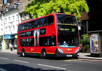 Route 337, Go Ahead London, E155, SN11BUF, Putney