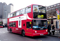 Route X68, Arriva London, VLA118, LJ05BKL, Waterloo