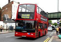 Route 102, Arriva London, DLP103, LF52URJ, Golders Green