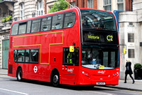 Route C2, Abellio London 9540, SN12ACX, Portland Place