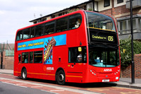 Route 135, Arriva London, T19, 519CLT, Isle Of Dogs