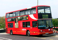 Route 121, Arriva London, DLA74, S274JUA, Enfield Lock