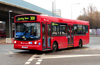 Route 300, East London ELBG 34318, LX51FHB, Canning Town