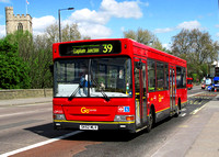 Route 39, Go Ahead London, LDP222, SK52MLV, Putney Bridge