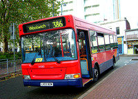 Route 386, Selkent ELBG 34380, LX03BZM, Woolwich