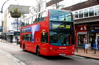 Route 128, Arriva London, T181, LJ60AUK, Romford