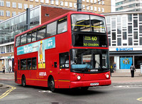 Route 60, Arriva London, DLA219, X419FGP, Croydon