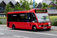 Route W12, First London, OOS53703, LK05DXR, Walthamstow