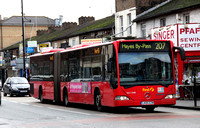 Route 207, First London, EA11048, LK05EZW, Southall