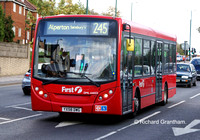 Route 245, First London, DML44033, YX58DWG, Wembley