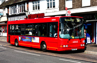 Route 256, Arriva Southend 3502, KE51PUA, Hornchurch