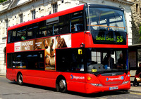 Route 55, Stagecoach London 15147, LX59CNY, Hackney
