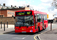 Route 167, Go Ahead London, ED14, AE56OUN, Debden