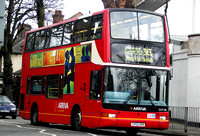 Route 313, Arriva London, DLP108, LF52UPR, Enfield Town