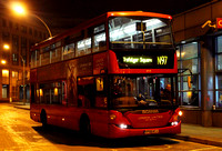 Route N97, London United RATP, SP39, YP58ACJ, Hammersmith