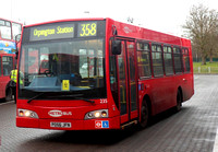 Route 358, Metrobus 235, PO56JFN, Crystal Palace