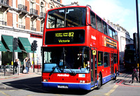 Route 82: North Finchley - Victoria [Withdrawn]