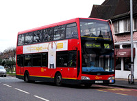 Route 93, Go Ahead London, DOE14, LX58CXD, North Cheam