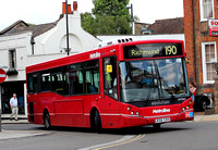 Route 190, Metroline, DM965, LK58CRX, Richmond