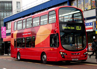 Route EL1, Go Ahead London, WVL343, LX59DFC, Barking