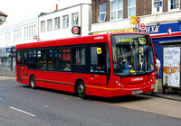 Route 370, Arriva Southend 4004, GN08CGY, Romford