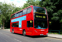 Route 135, Arriva London, T19, LJ08CVP, Crossharbour