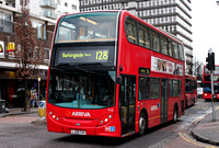 Route 128, Arriva London, T13, LJ08CVH, Ilford