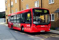 Route 339, First London, DML44167, YX60DXL, Shadwell