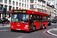 Route 100, Abellio London 8301, BX54DKA, Blackfriars