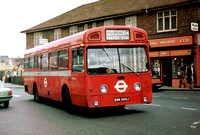 Route 204, London Transport, SMS555, EGN555J, Hayes