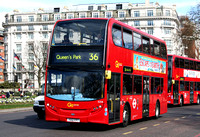 Route 36, Go Ahead London, E258, YX12FPT, Marble Arch