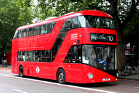 Route 10, London United RATP, LT162, LTZ1162, Hyde Park Corner