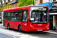 Route 434, Abellio London 8107, YX58DTV, Coulsdon