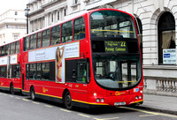 Route 22, Go Ahead London, WVL43, LF52ZRA, Piccadilly Circus