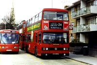 Route 214, London Transport, T449, KYV449X, Parliament Hill Fields
