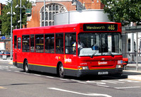 Route 485, London General, LDP293, LX06EZJ, Hammersmith