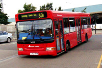 Route 300, East London ELBG 34350, LV52HKB, Canning Town