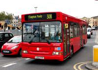 Route 308, Tower Transit, DP42600, LG02FFP, Stratford