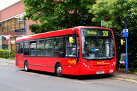 Route 331, First London, DML44014, LK08FLC, Ruislip