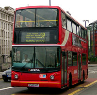 Route 59, Arriva London, DLA142, V342DGT, Waterloo