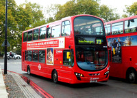 Route 73, Arriva London, DW436, LJ11ABO, Marble Arch
