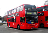 Route 136, Stagecoach London 10133, LX12DFJ, Grove Park