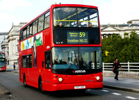 Route 59, Arriva London, DLA317, Y517UGC, Waterloo