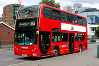Route 135, Arriva London, T12, LJ08CVG, Crossharbour