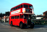 Route 62, London Transport, RT1782, KYY620