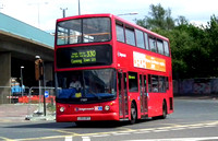 Route 330, Stagecoach London 17889, LX03OPY, Canning Town