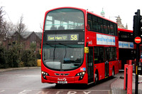 Route 58, First London, VN37841, BV10WVL, Walthamstow