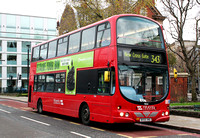 Route 343, Travel London 9054, BX55XNG, City Hall