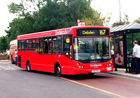 Route 167, Docklands Buses, ED18, LX07BYJ, Loughton